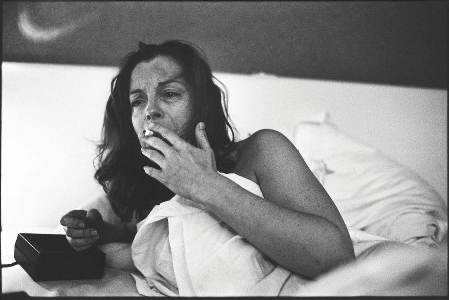 Romy Schneider en 1981.