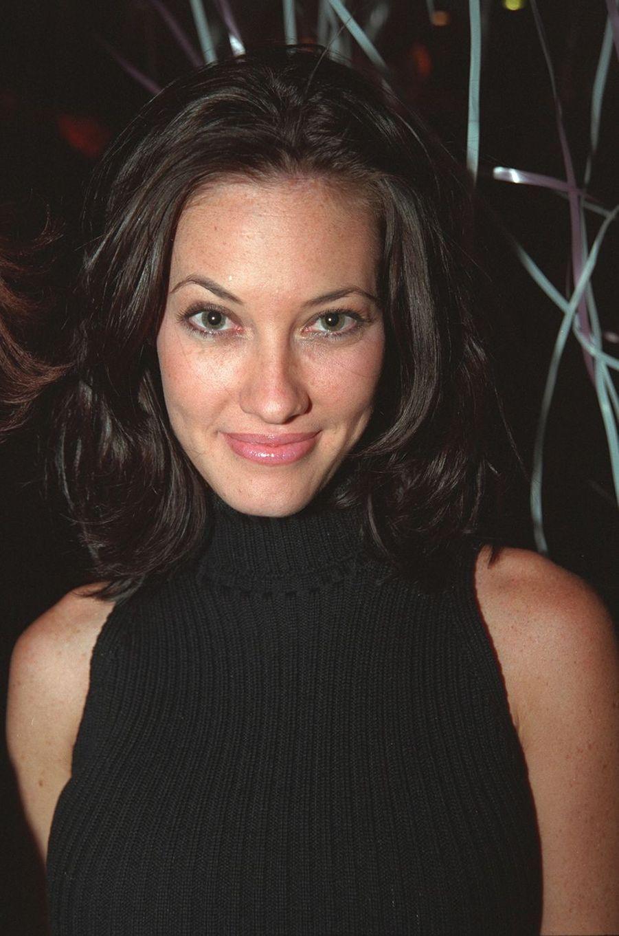 Mareva Galanteraux célébrations des 20 ans de Sonia Rolland à Paris en février 2001