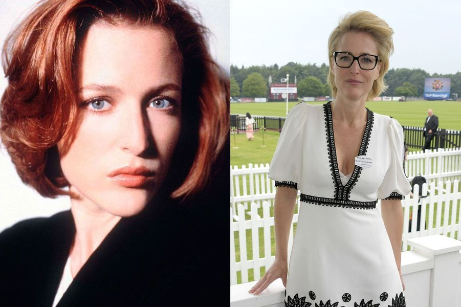 "Gillian Anderson d'""X Files"" 1993-2018"