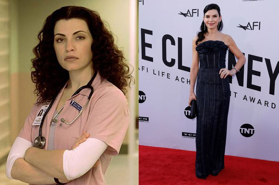"Julianna Margulies d'""Urgences"" 1994-2009"