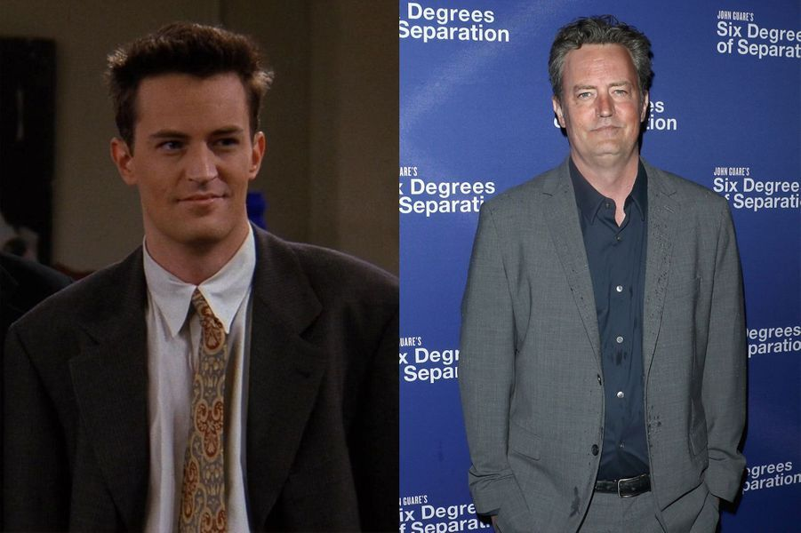 "Matthew Perry de ""Friends"" 1994-2003"