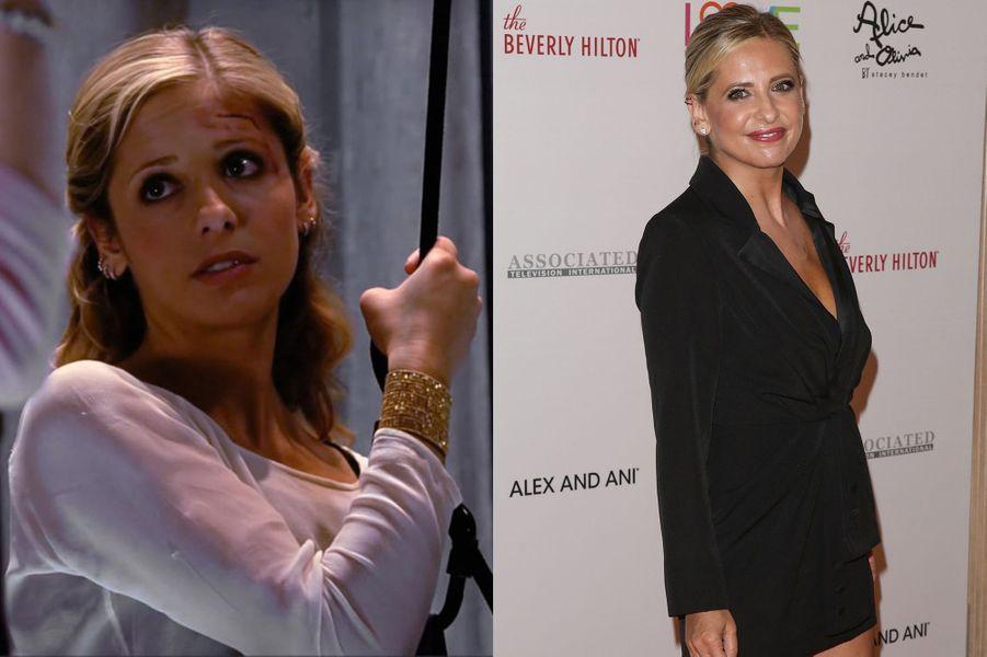 "Sarah Michelle Gellar de ""Buffy contre les vampires"" 1997-2003"