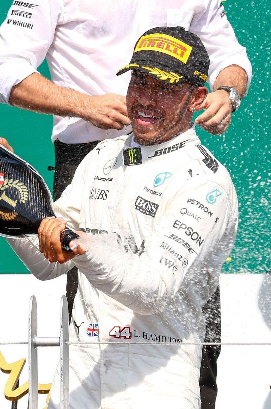 Lewis Hamilton, 46 millions de dollars