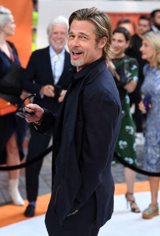Brad Pitt à Londres, le 30 juillet 2019.