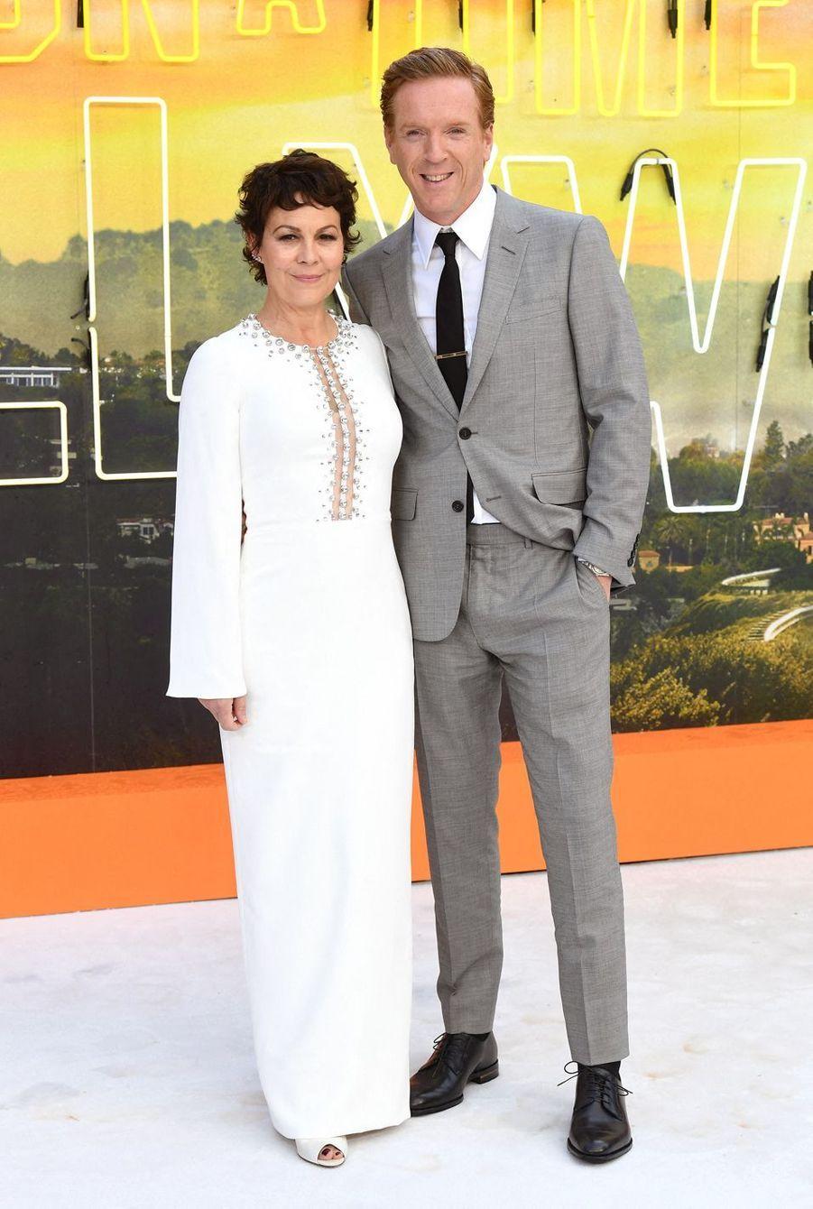 Helen McCrory et Damian Lewisà Londres, le 30 juillet 2019.