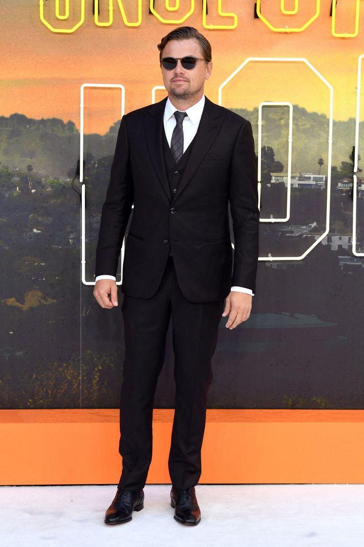 Leonardo DiCaprio à Londres, le 30 juillet 2019.