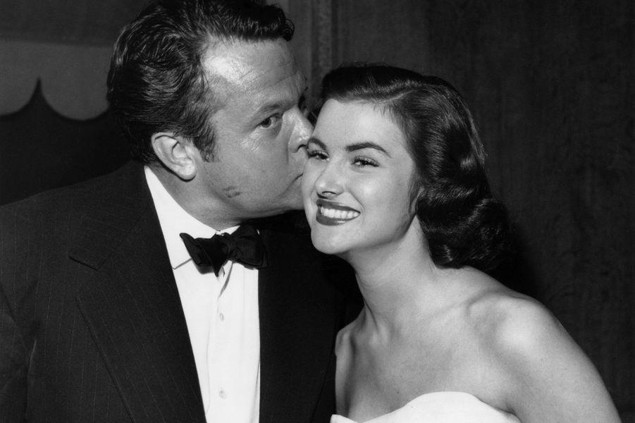 Christiane Martel et Orson Wells