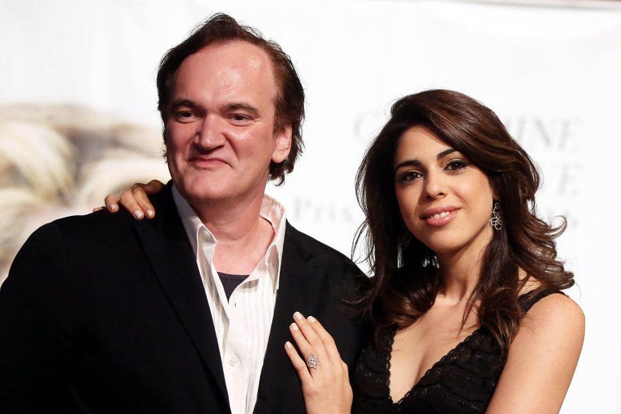 Quentin Tarantino et Daniella Pick au Festival Lumière de Lyon, octobre 2016.