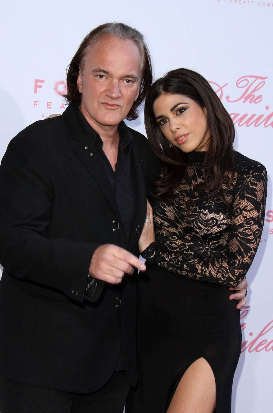 Quentin Tarantino et Daniella Pick à Los Angeles, le 12 juin 2017.