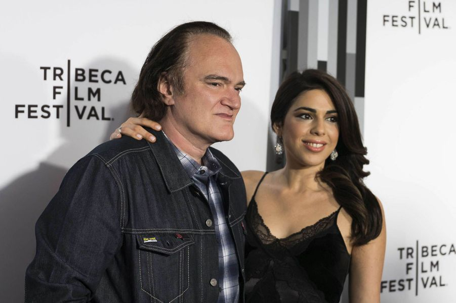 Quentin Tarantino et Daniella Pick à New-York, avril 2017.