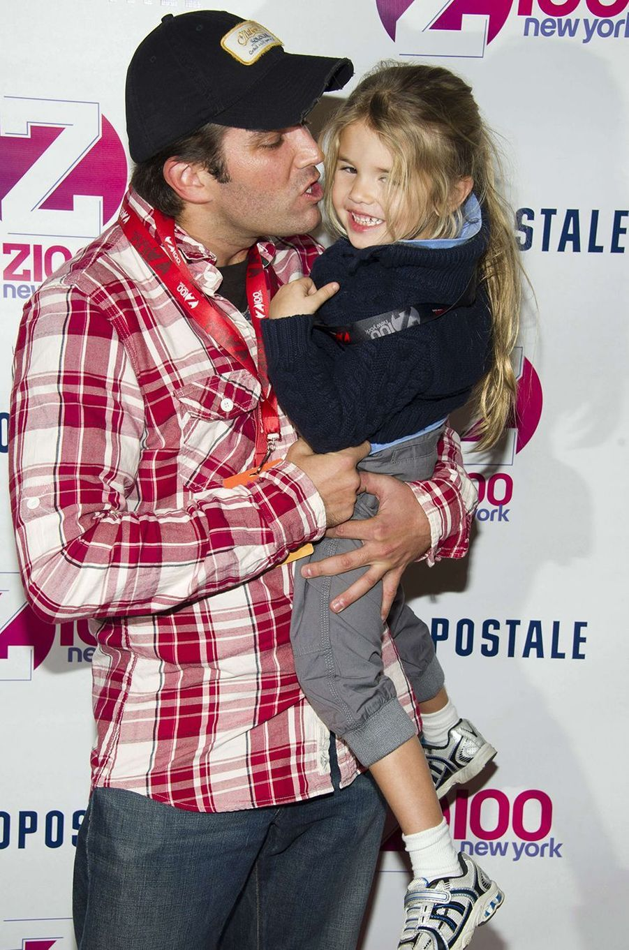 Donald Trump Jr. avec sa fille Kai en 2011.