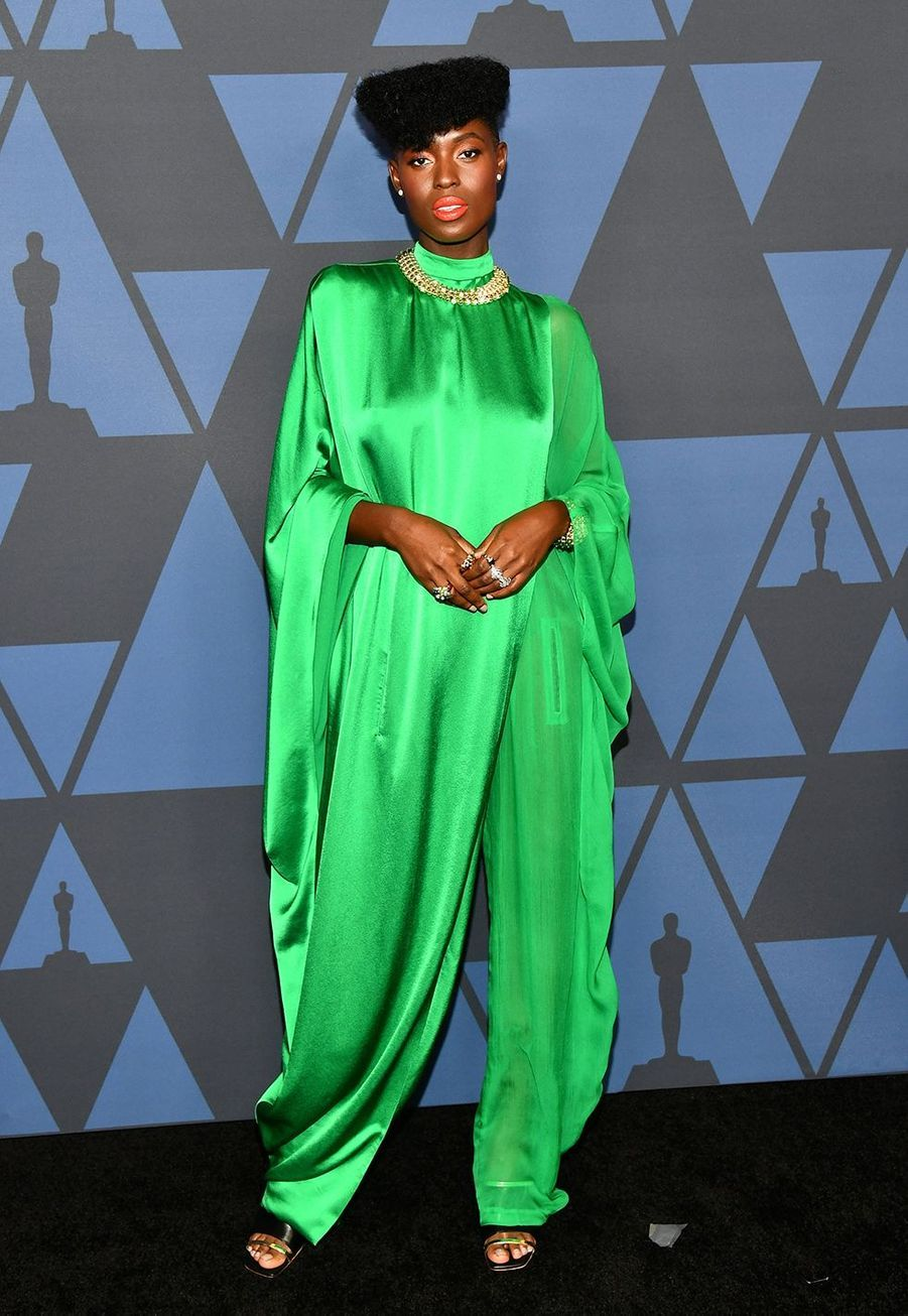 Jodie Turner-Smith aux Governors Awards à Hollywood le 27 octobre 2019