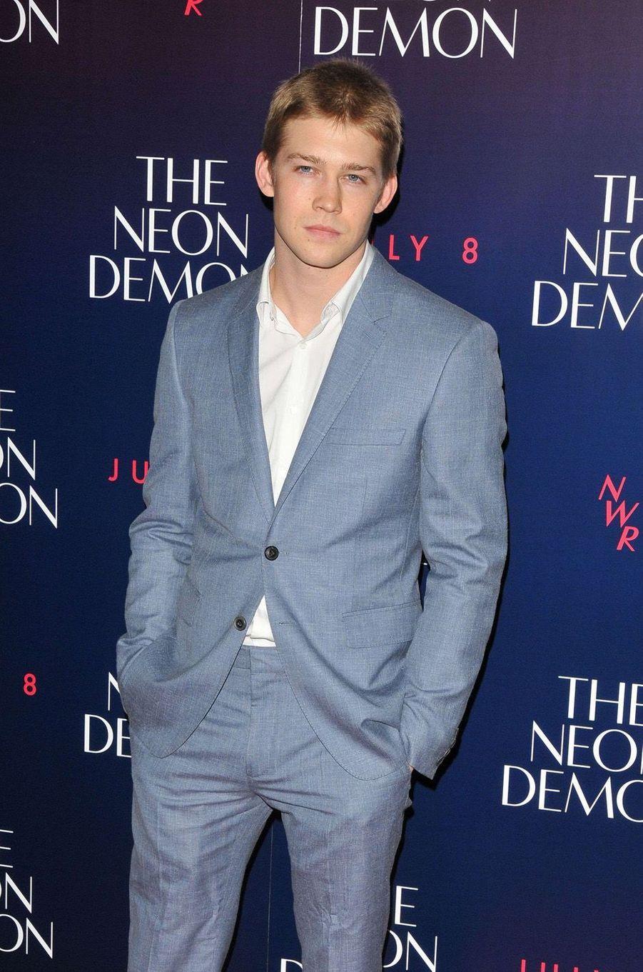 "Joe Alwyn à l'avant-première du film ""The Neon Demon"" le 31 mai 2016."