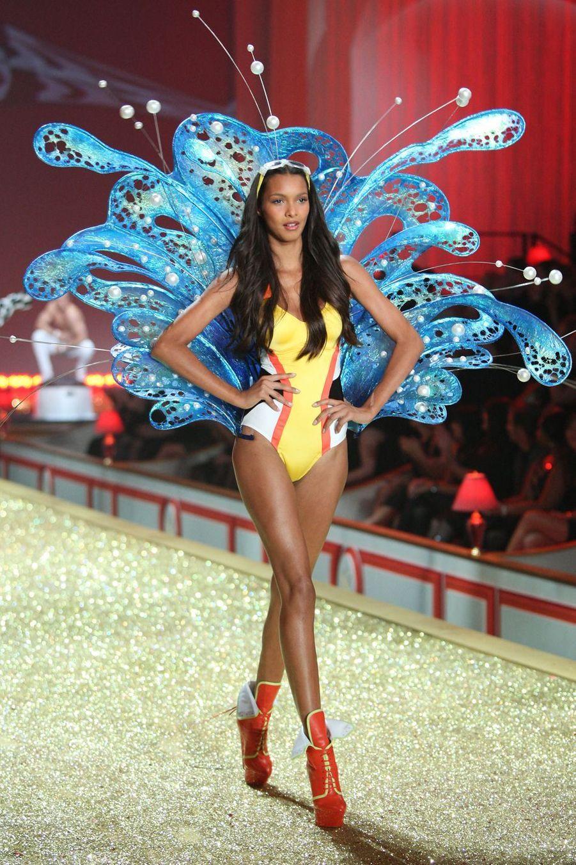 Lais Ribeiro en 2010 au show Victoria's Secret