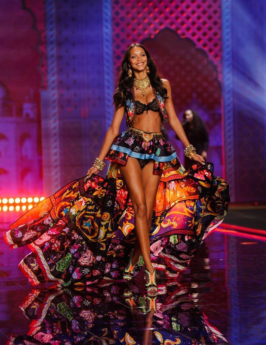 Lais Ribeiro en 2014 au show de Victoria's Secret