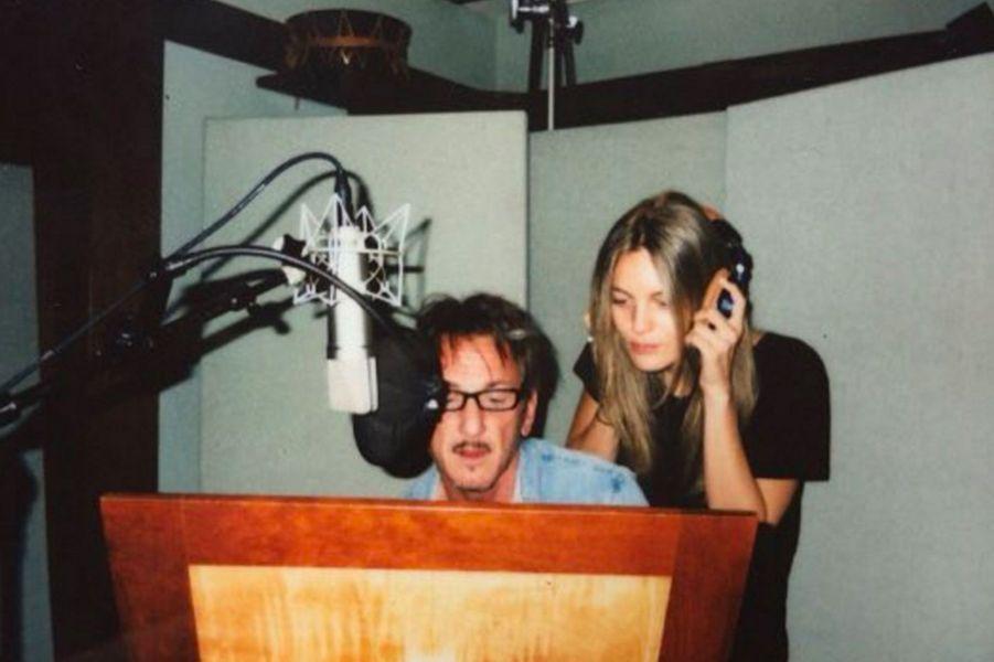 Leila George et Sean Penn