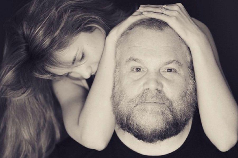 Leila George et son père Vincent D'Onofrio
