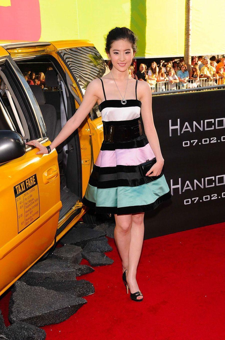 Liu Yifei à Hollywood, le 30 juin 2008