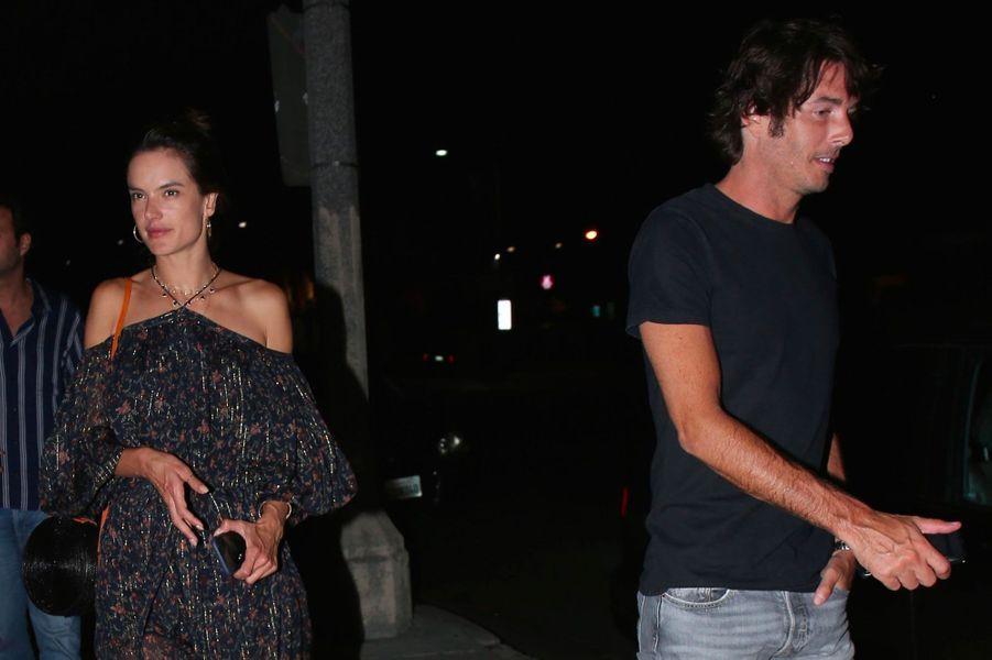 Alessandra Ambrosio et Nicolò Oddi en août 2018