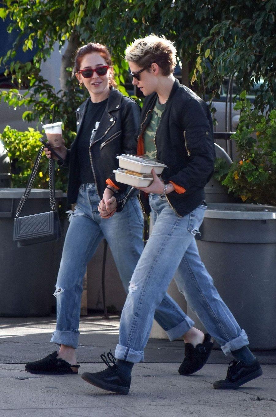 Kristen Stewart et Sara Dinkin, décembre 2018