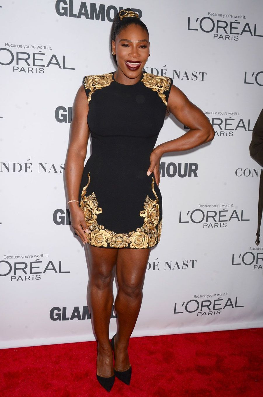 Serena Williams Glamour Women of the year 2017 à New York le 13 novembre 2017