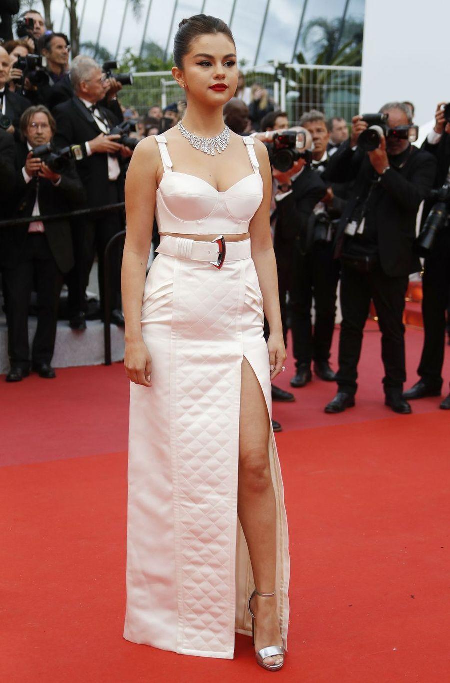 Selena Gomez à Cannes, le 14 mai 2019