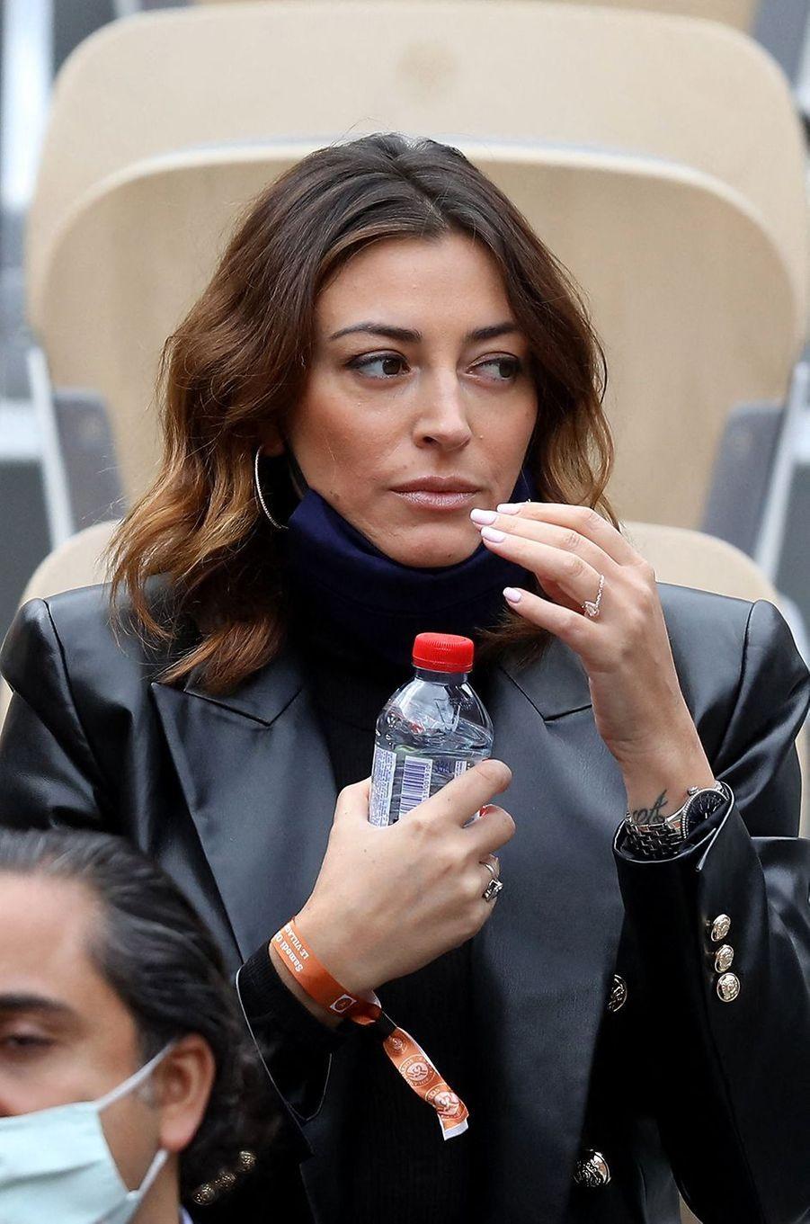 Rachel Legrain-Trapanià Roland-Garros le 3 octobre 2020