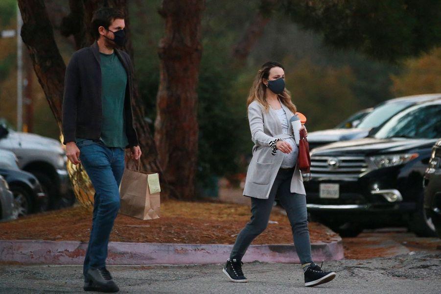 Rachel McAdams et son compagnon Jamie Linden à Los Angeles le 23 septembre 2020