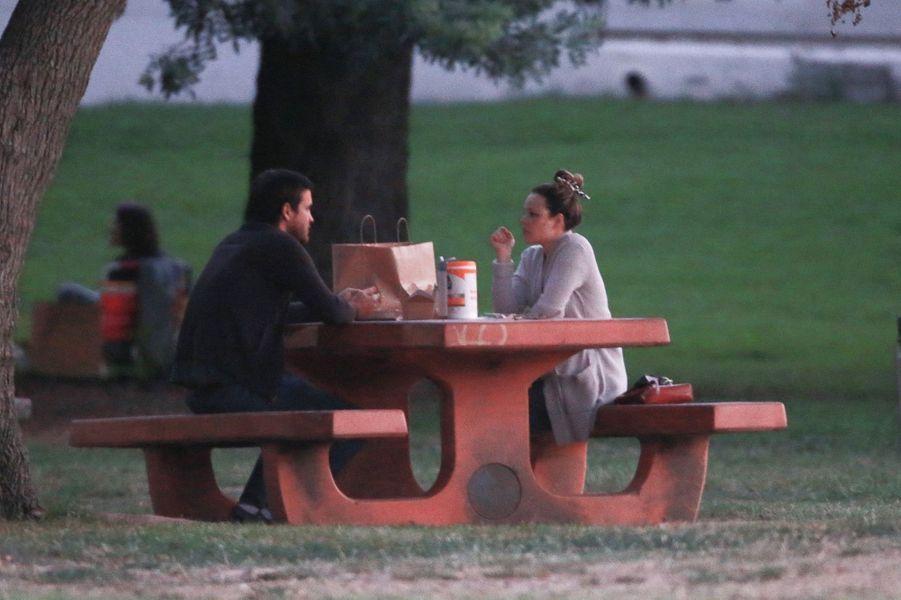 Rachel McAdams et son compagnon Jamie Lindenà Los Angeles le 23 septembre 2020
