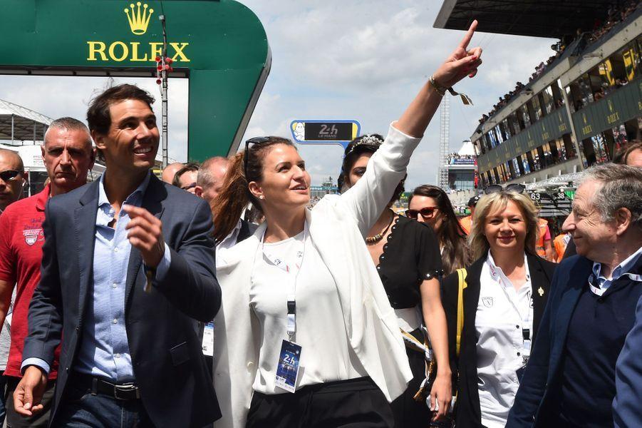 Rafael Nadal et Marlène Schiappa