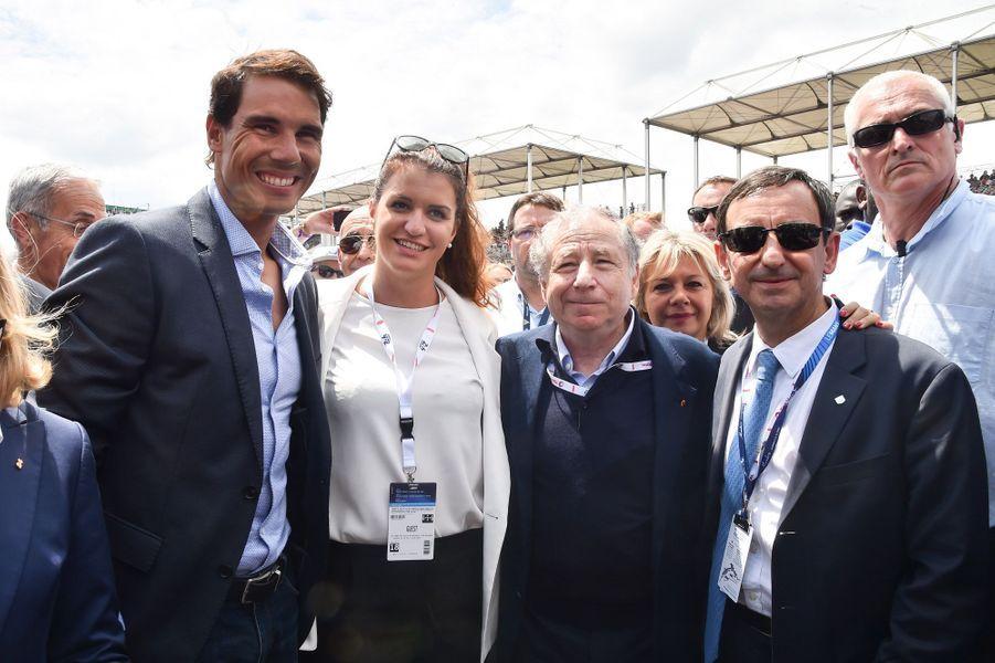 Rafael Nadal, Marlène Schiappa, Jean Todt et Pierre Fillon