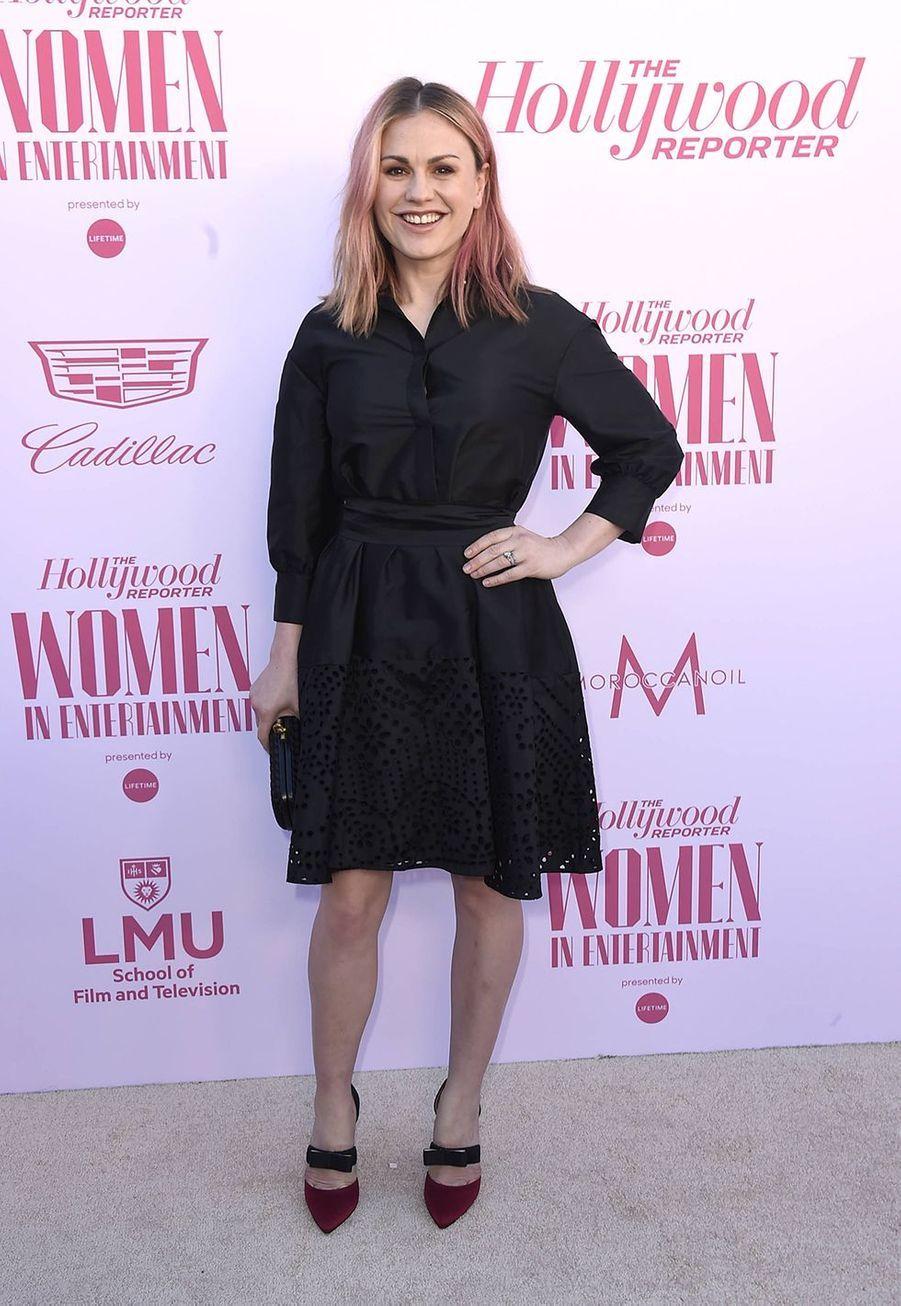 Anna Paquinau gala «Hollywood Reporter's Women in Entertainment» à Los Angeles le 10 décembre 2019