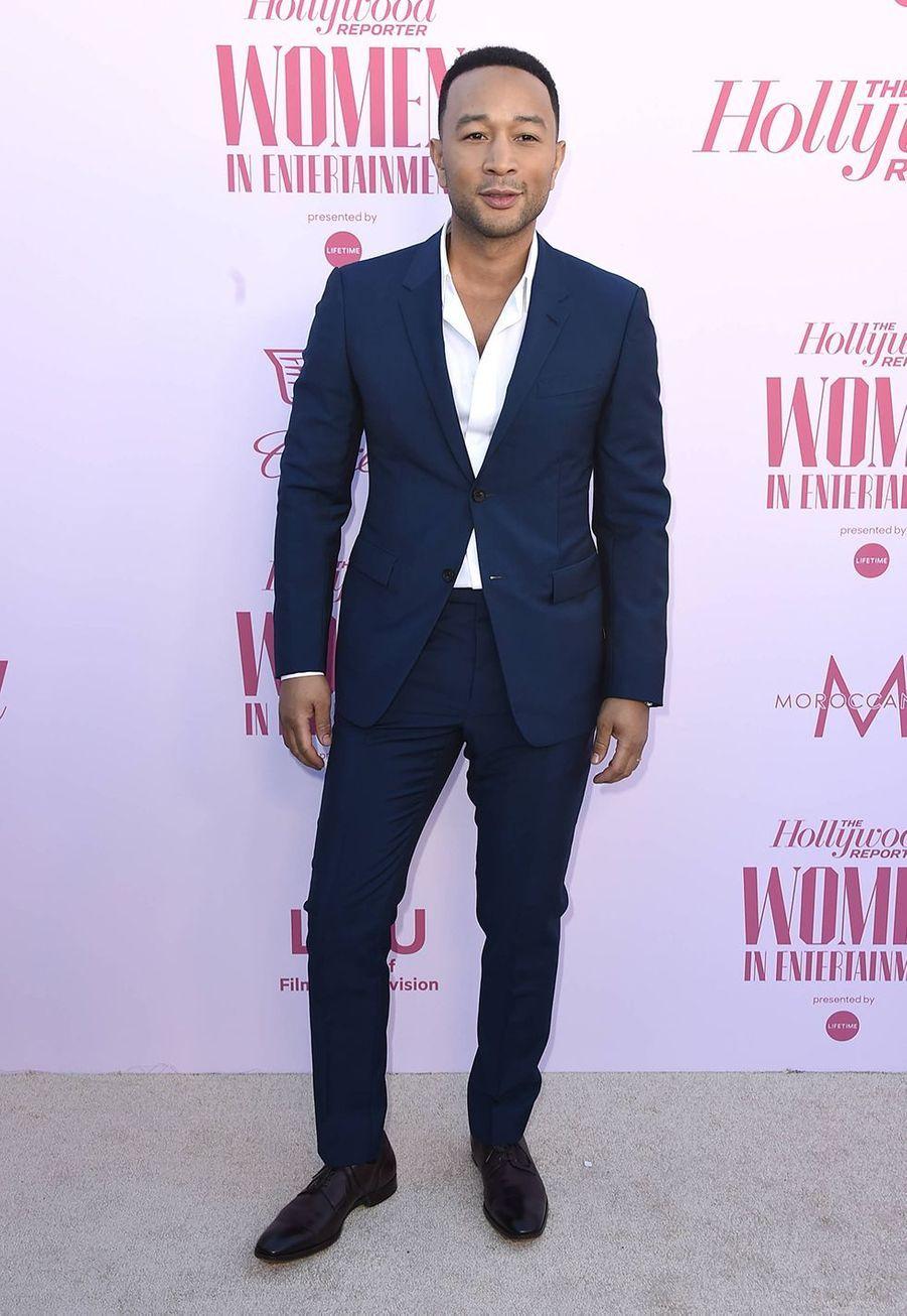 John Legendau gala «Hollywood Reporter's Women in Entertainment» à Los Angeles le 10 décembre 2019