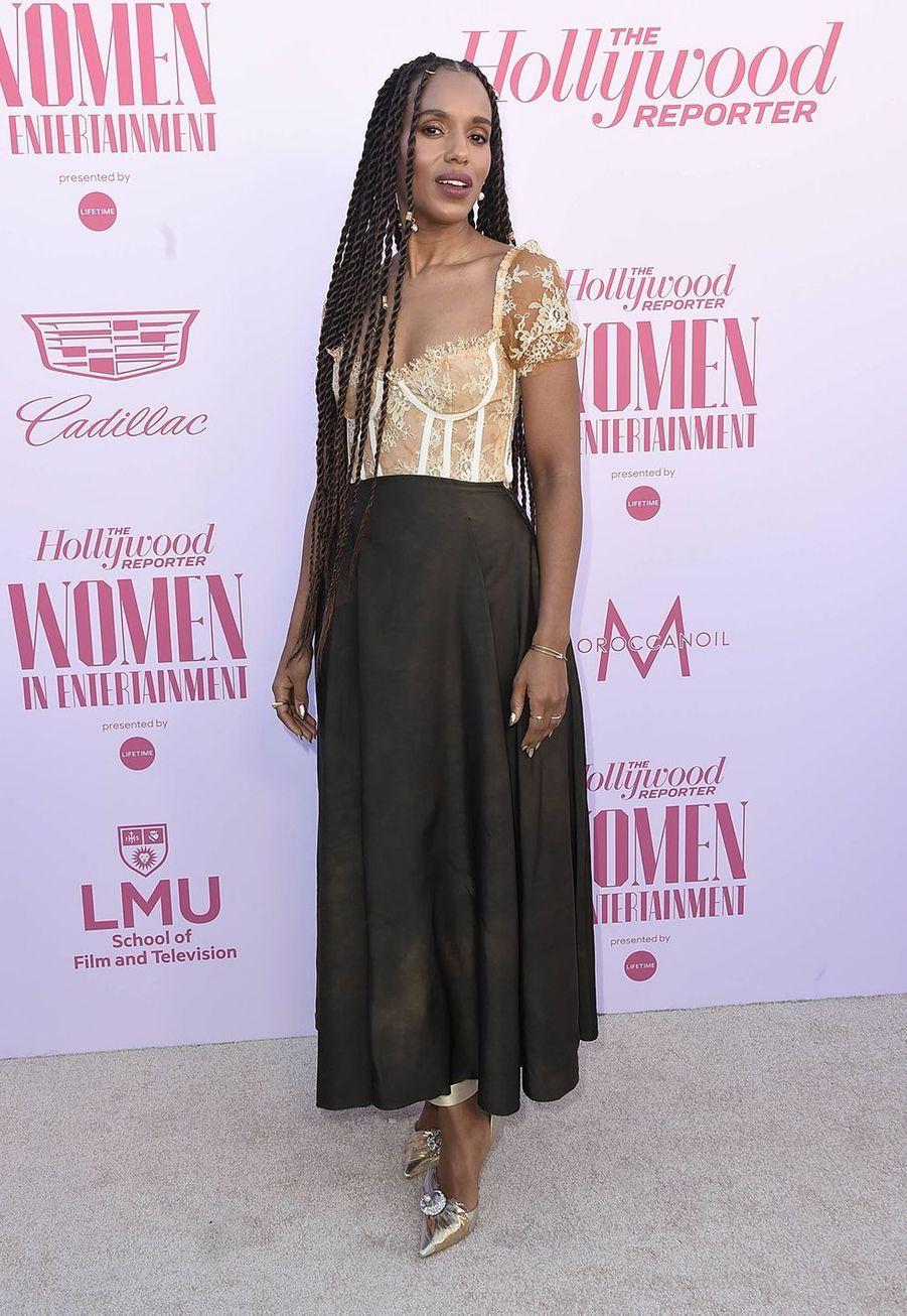 Kerry Washingtonau gala «Hollywood Reporter's Women in Entertainment» à Los Angeles le 10 décembre 2019