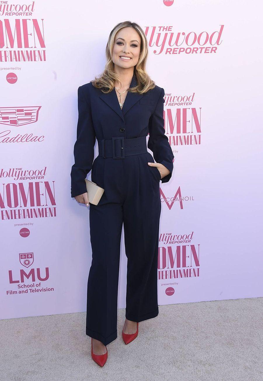 Olivia Wildeau gala «Hollywood Reporter's Women in Entertainment» à Los Angeles le 10 décembre 2019