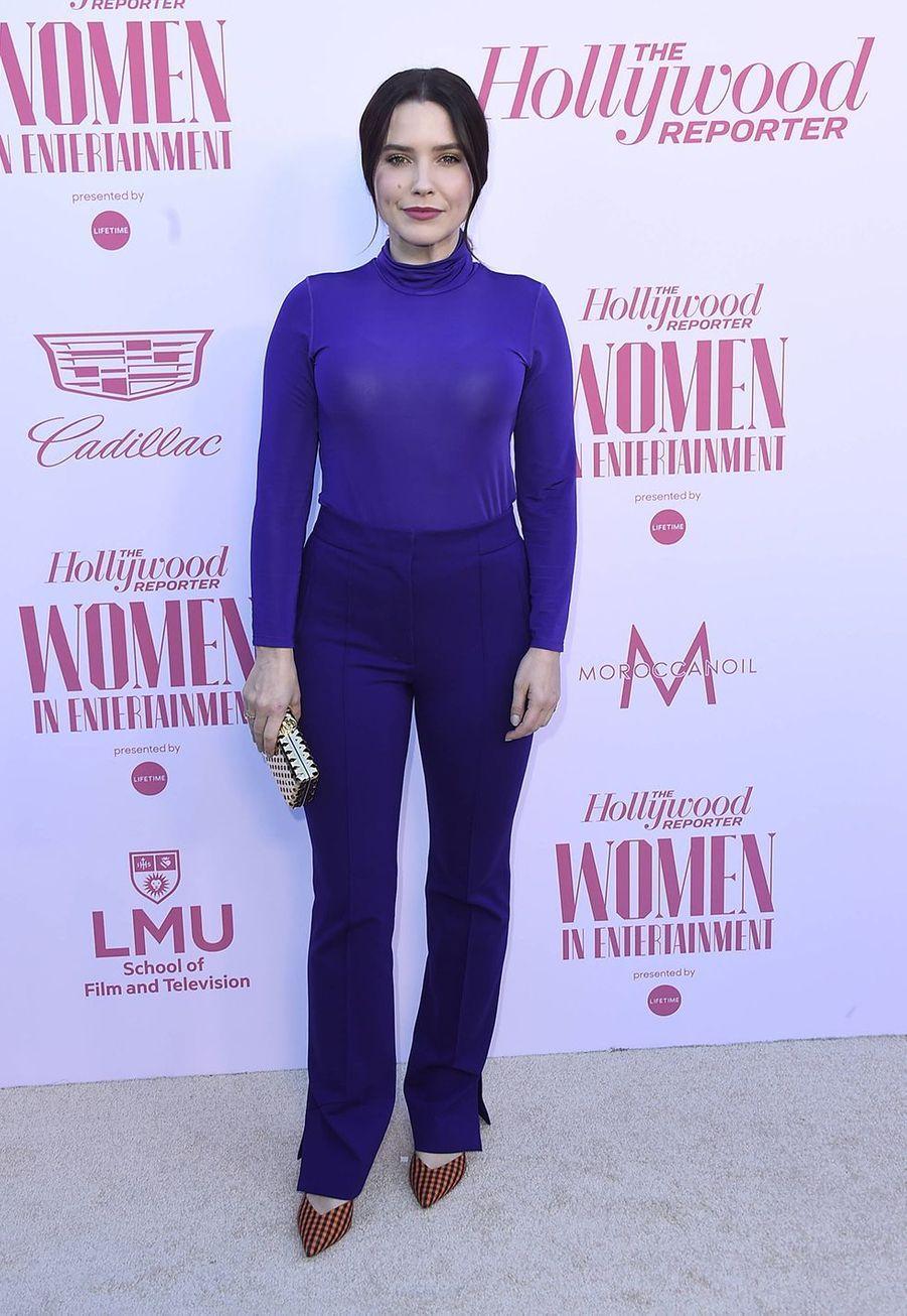 Sophia Bushau gala «Hollywood Reporter's Women in Entertainment» à Los Angeles le 10 décembre 2019