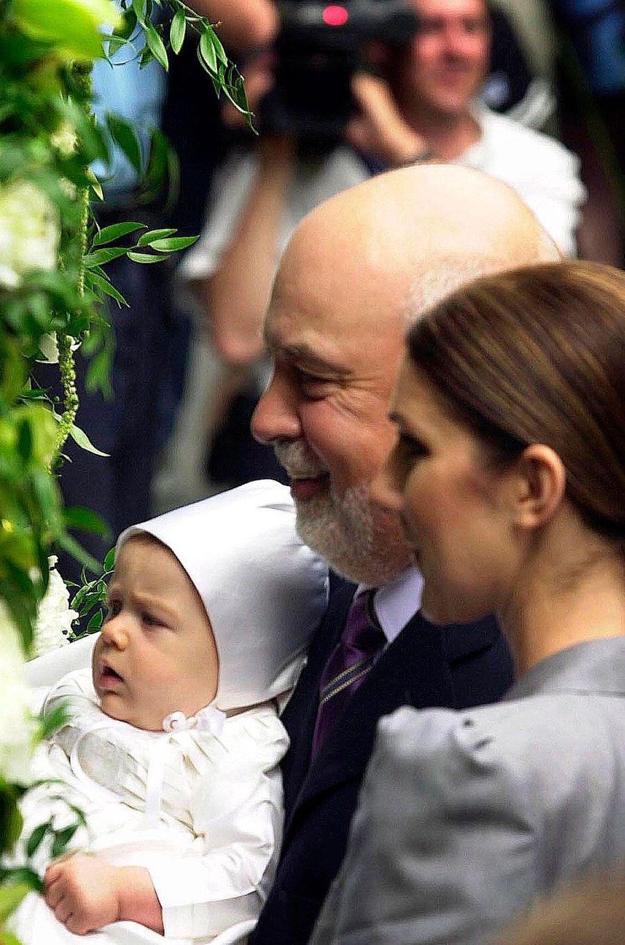 René-Charles Dion lors de son baptême
