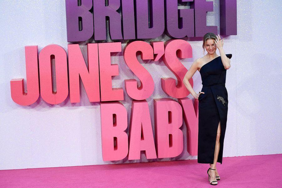 Renée Zellweger à l'avant-première du film «Bridget Jones Baby» à Londres en 2016