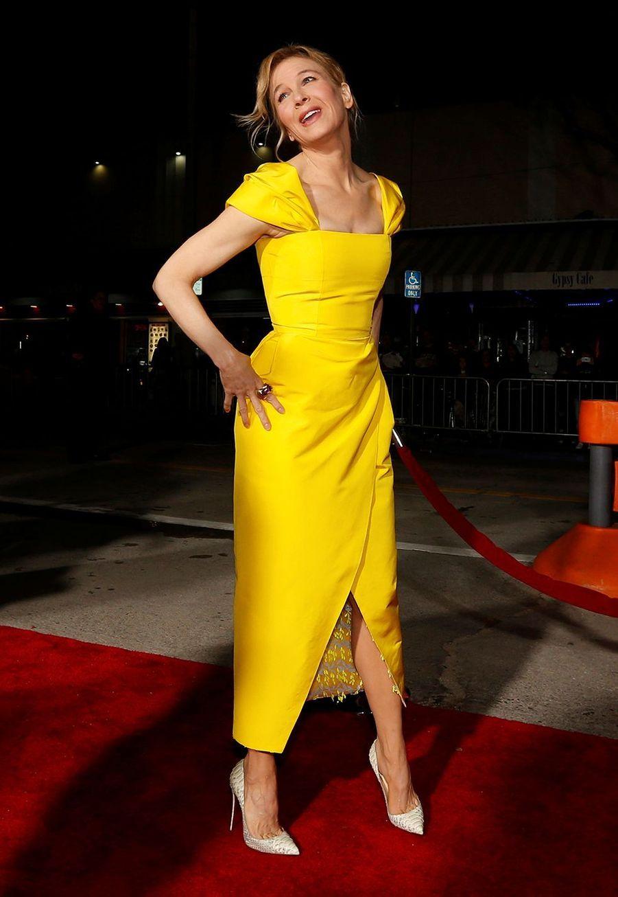 Renée Zellweger à la première de «Same Kind of Different as Me» à New York en octobre 2017
