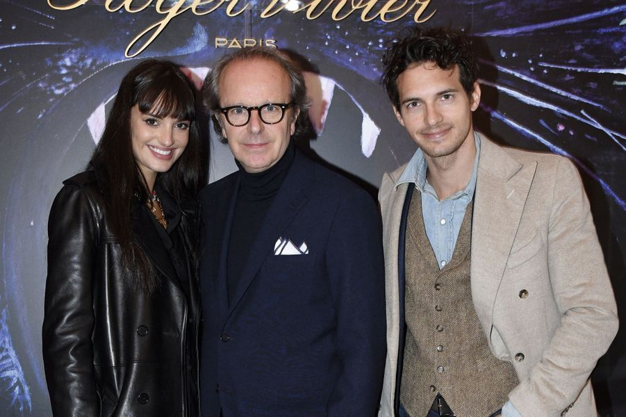 Gabrielle Caunesil, Andrea della Valle et Riccardo Pozzoli.