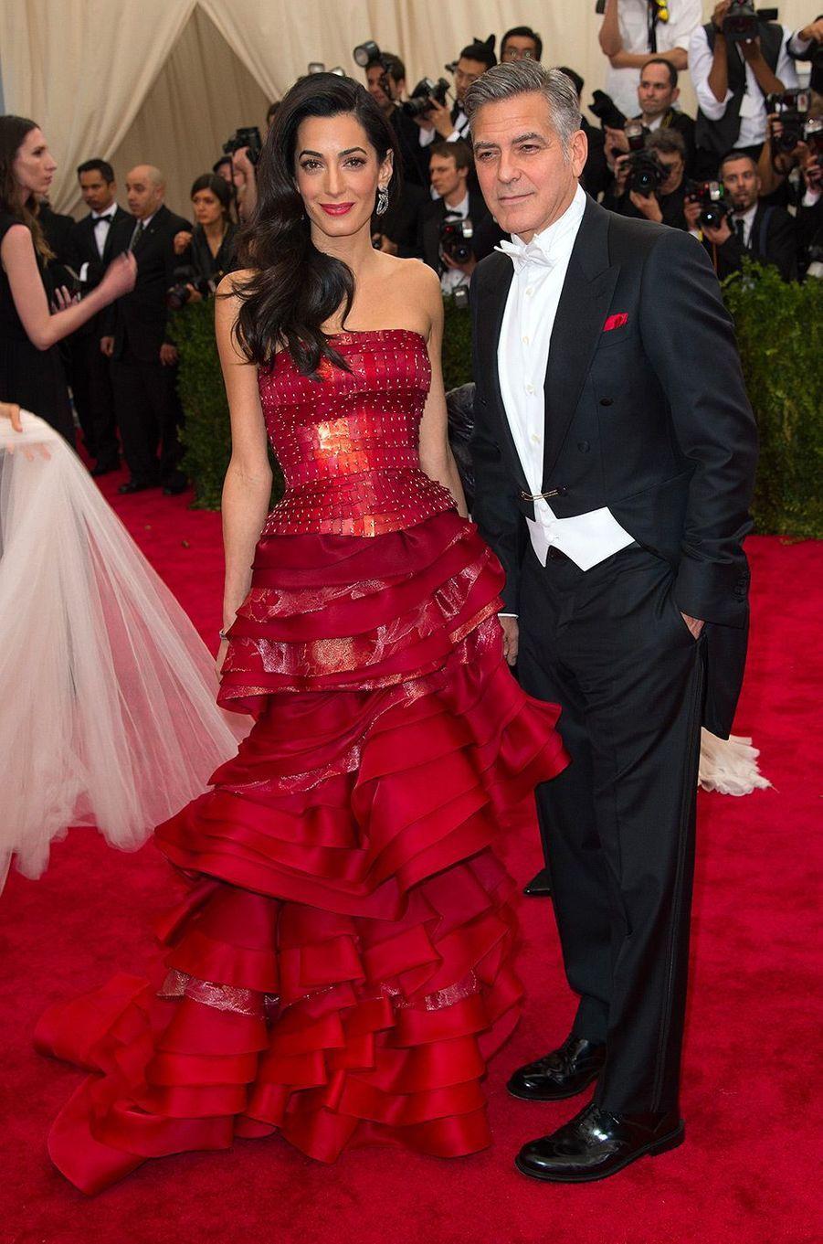 Amal Clooney au MET Gala 2015