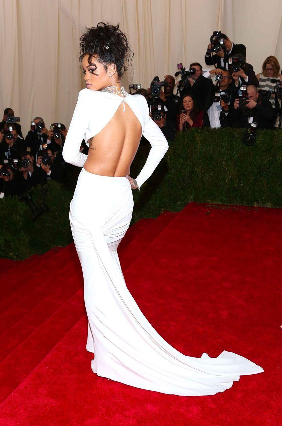 Rihanna au MET Gala 2014