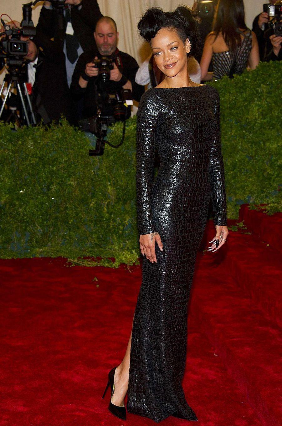 Rihanna au MET Gala 2012