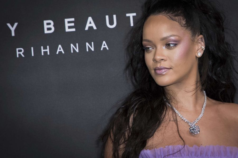 Rihannaà Londres, le 19 septembre 2017.