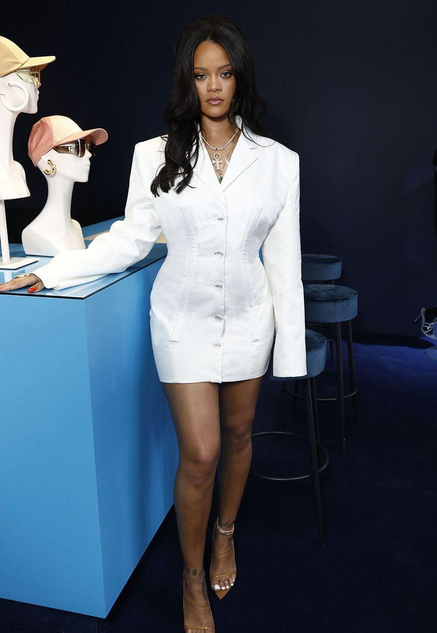 Rihannaaulancement de la première collection Fenty à Paris le 22 mai 2019