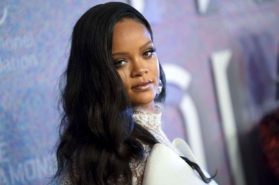 Rihanna au Diamond Ball, à New York le 13 septembre 2018