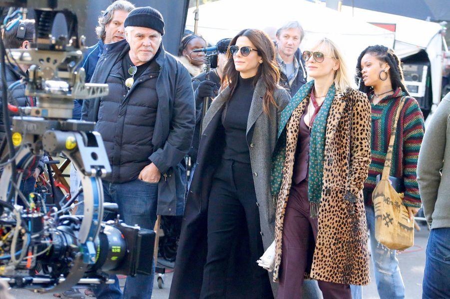 Sandra Bullock, Cate Blanchett et Rihanna