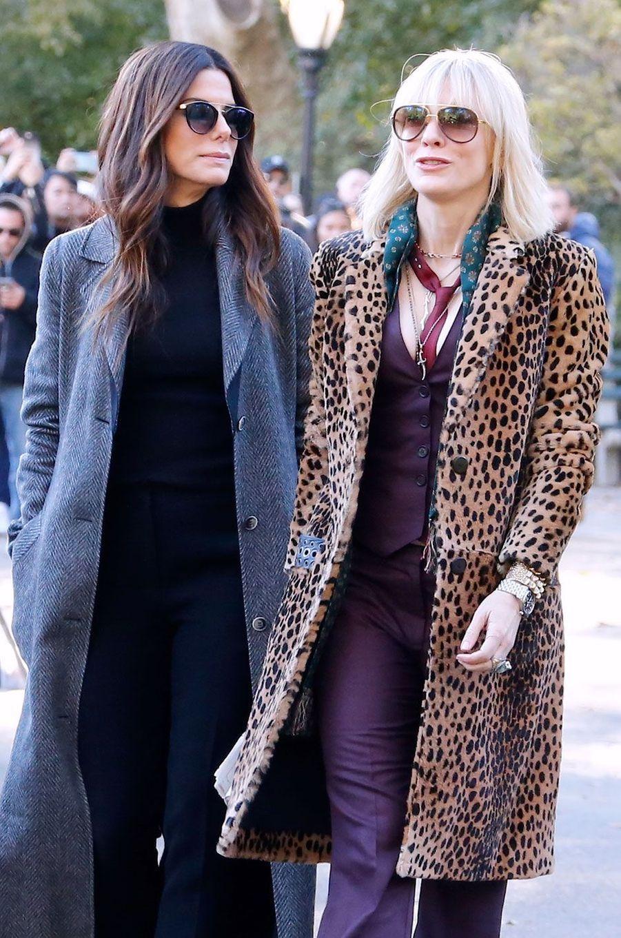 Sandra Bullock et Cate Blanchett