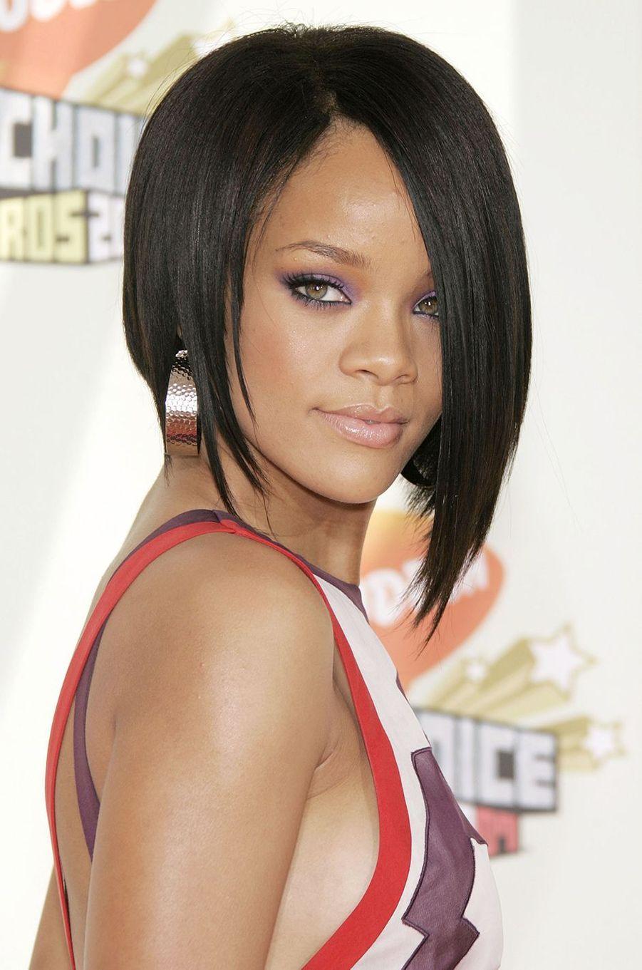 Rihanna lors desKids' Choice Awards à Los Angeles en mars 2007