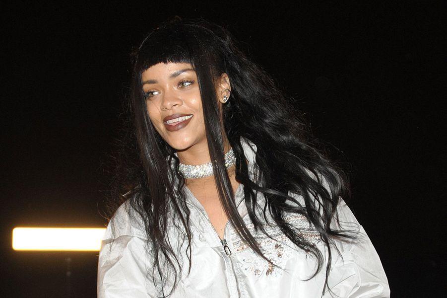Rihanna, le 12 décembre 2014.